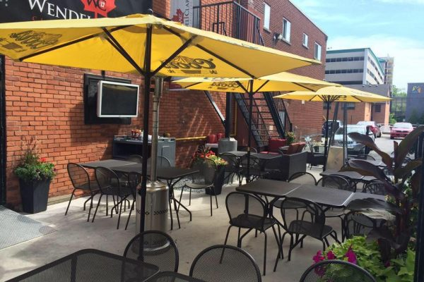 Wendel Clarks Burlington patio