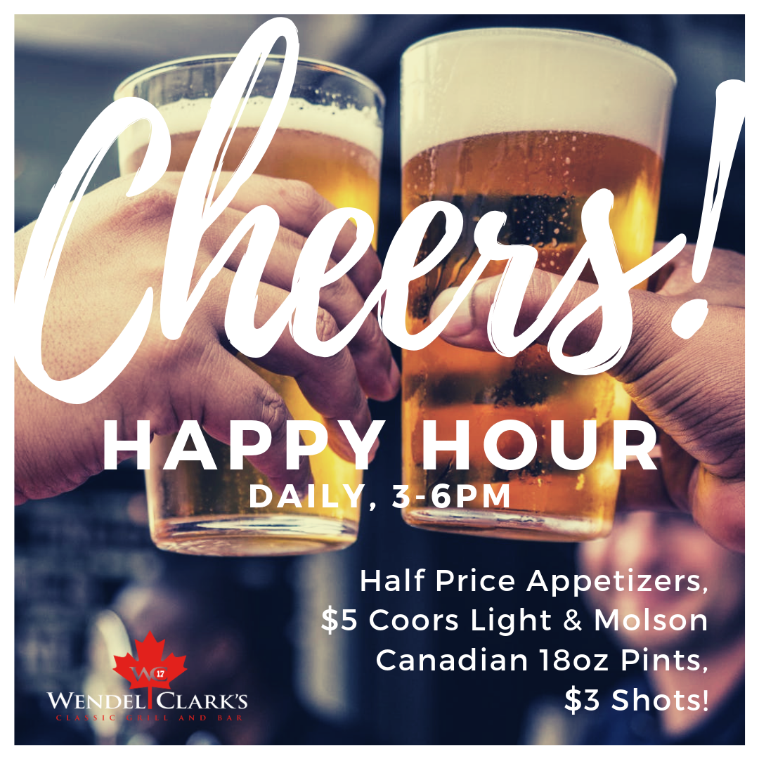Happy Hour Promotion