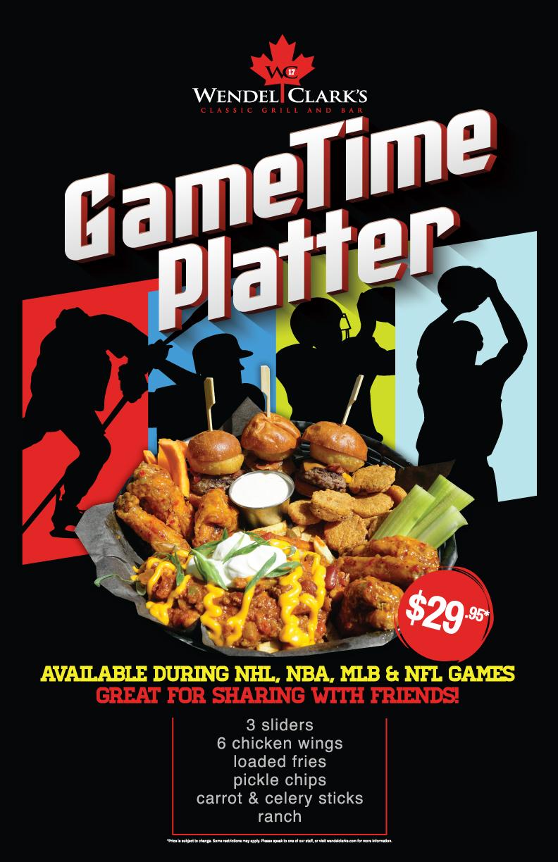 GameTime Platter