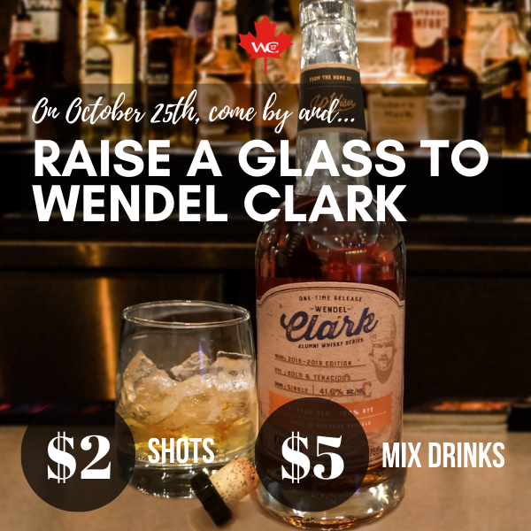 Wendel Clark's Birthday special limited to Ontario