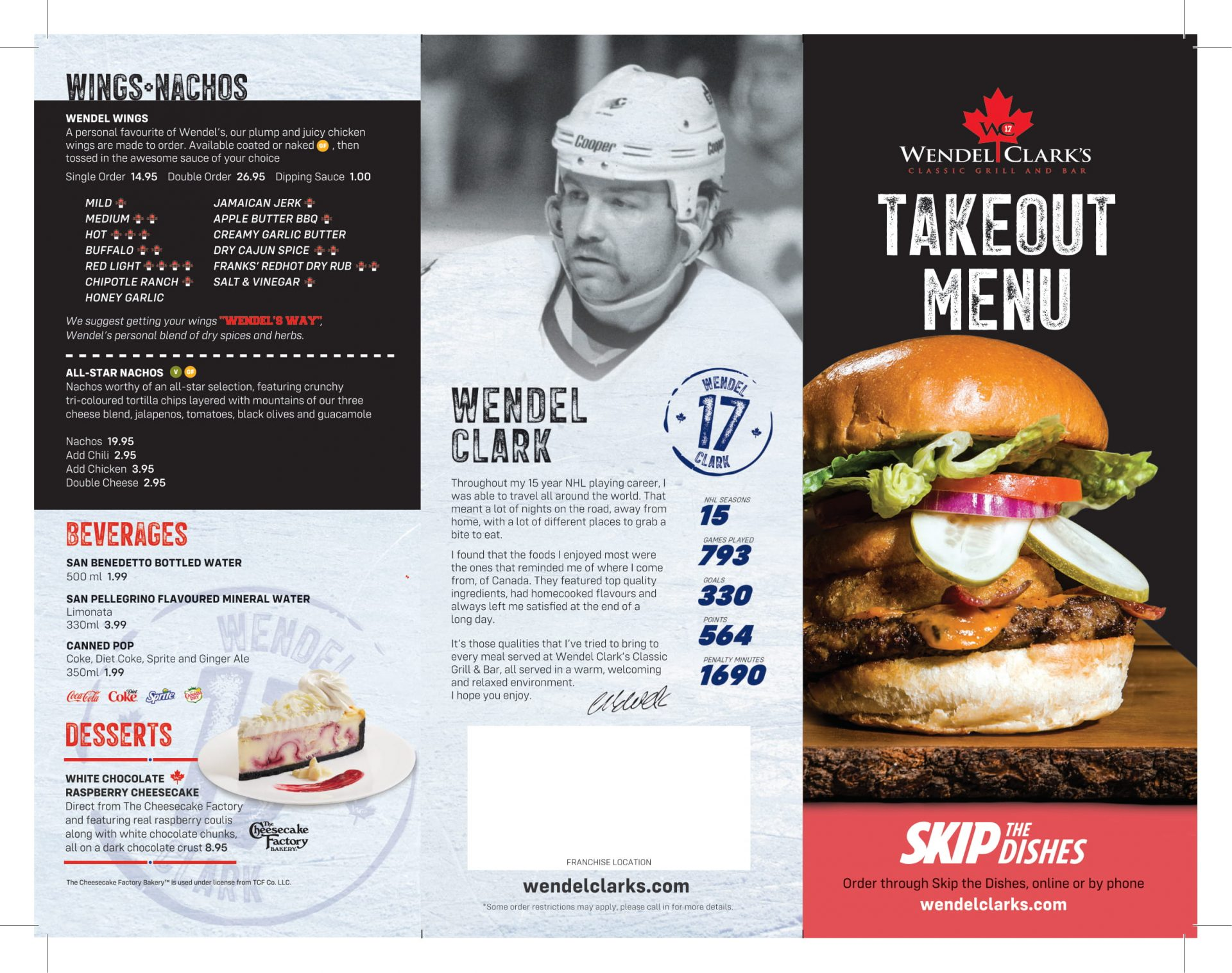 Take Out Menu - Page 1