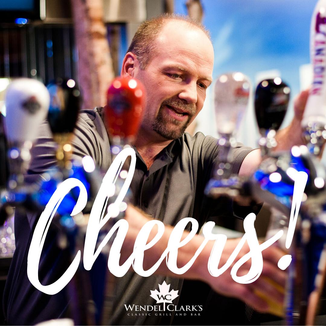 Wendel Clark - Happy Hour - Cheers Image