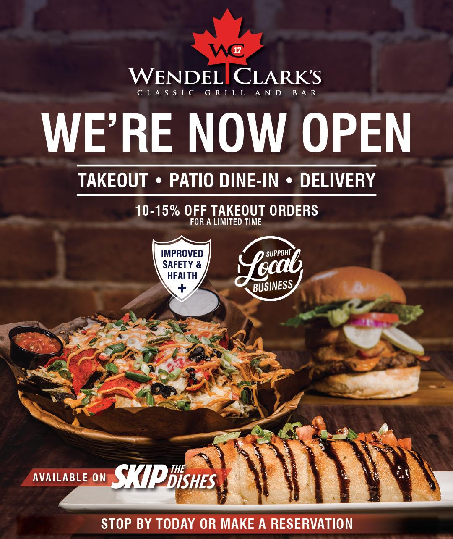 Wendel Clarks now Open Oshawa
