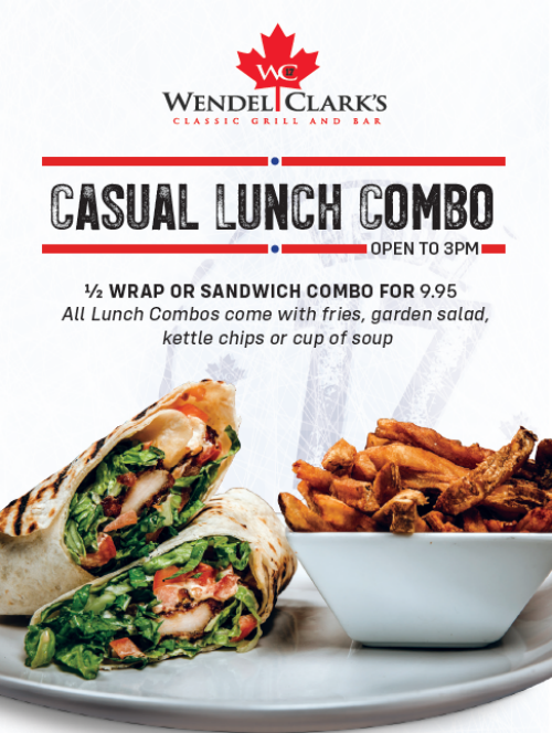Casual Lunch Special