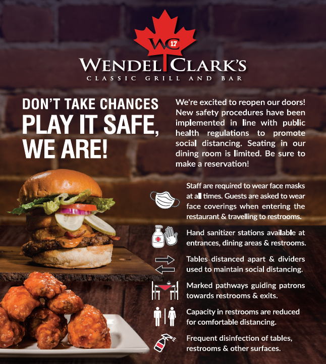 WC - Dine-In COVID Regulations